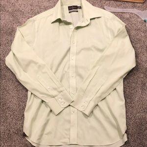 Black Brown 1826 tailored fit dress shirt sz 16